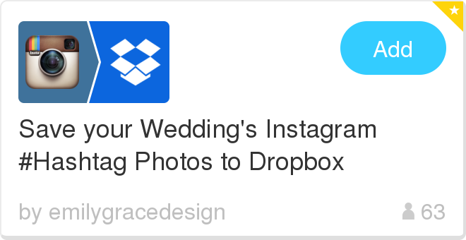 Post to instagram from dropbox
