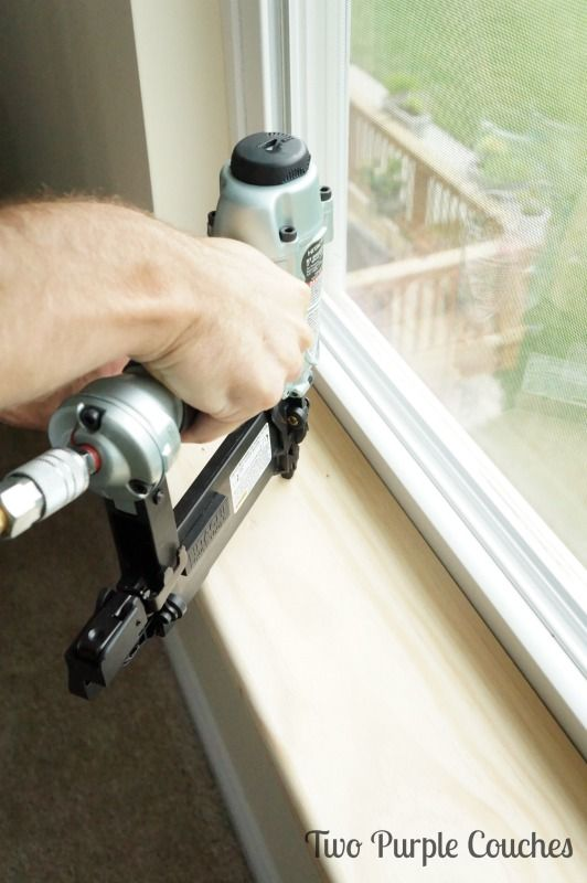 How To Replace An Interior Window Sill Projects Kitchen