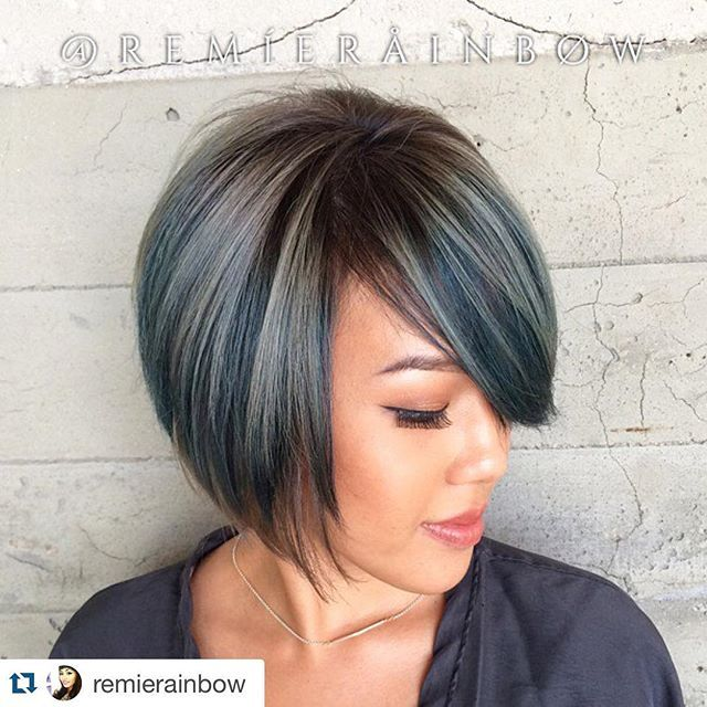 1e29a83f3f Today we present 21 eye-catching A-line bob hairstyles.A bob hairstyle
