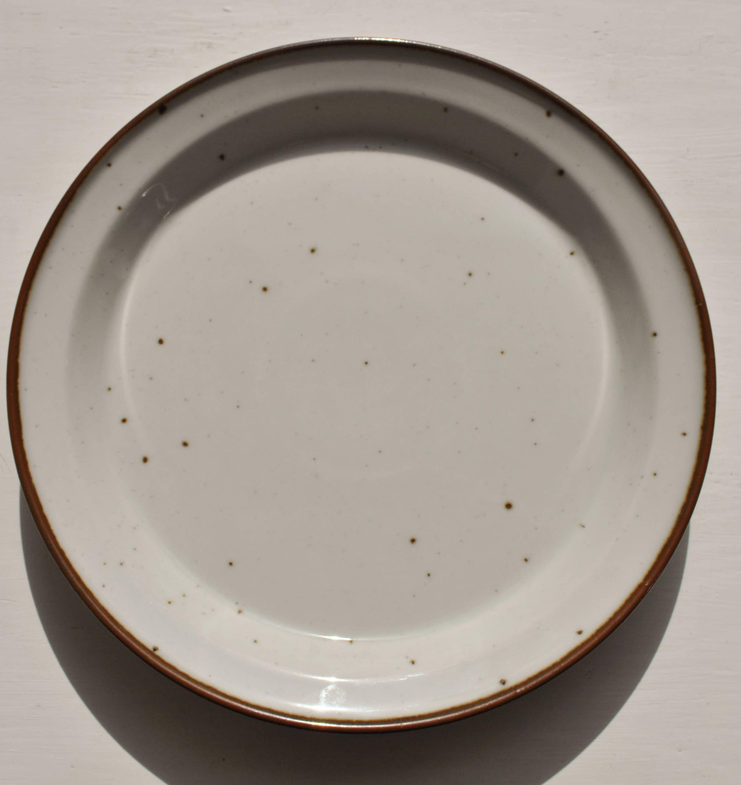 dansk brown mist dinner plate denmark niels refsgaard scandinavian  - dansk brown mist dinner plate denmark niels refsgaard scandinavian modern