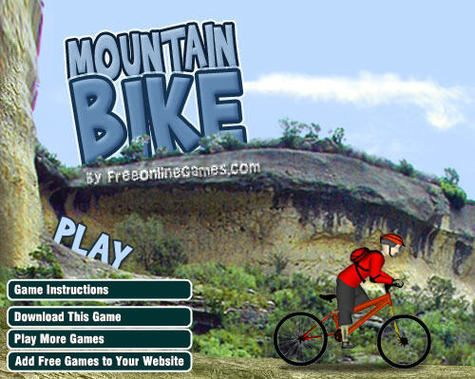Mountain Bike Game Mountain Bike Games Bikes Games Mountain Biking