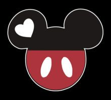 Disney: Art, Design & Photography. Great layout idea for scrapbook. We love the mouse or it all started with a mouse.