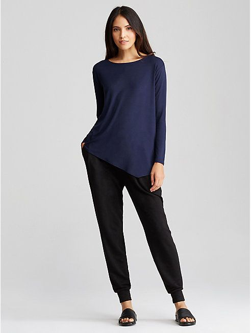 ada84e133a Tencel Fleece Slouchy Pant Slouchy Pants