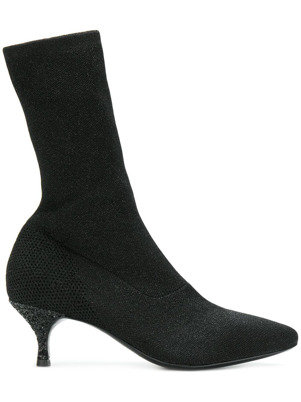 Strategia Kitten Heel Sock Boots Socks Heels Boots Kitten Heels
