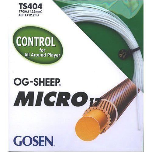 TENNIS STRING GOSEN OG-SHEEP MICRO 15L 40FEET