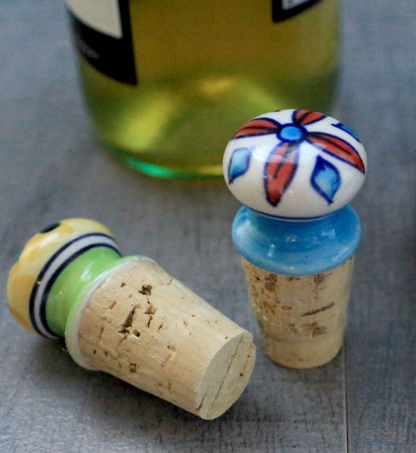 Decorative Wine Ttoppers How To Video Recipe Wine Cork Diy Crafts Wine Stopper Diy Wine Cork Diy