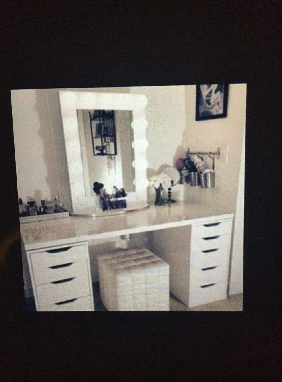 Diy vanity makeup vanity pinterest diy vanity makeup vanities