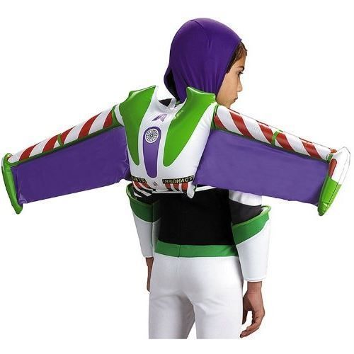 Toy Story Halloween Buzz Lightyear Costume Jet Pack Inflatable Disney Boys Child