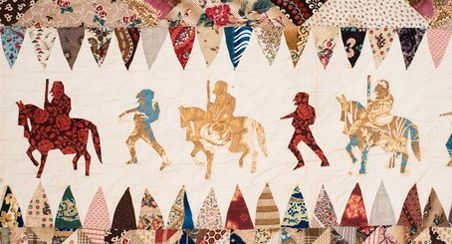 Man-Made Quilts: Civil War to the Present Shelburne Museum --- Civil War quilt made by an unknown soldier