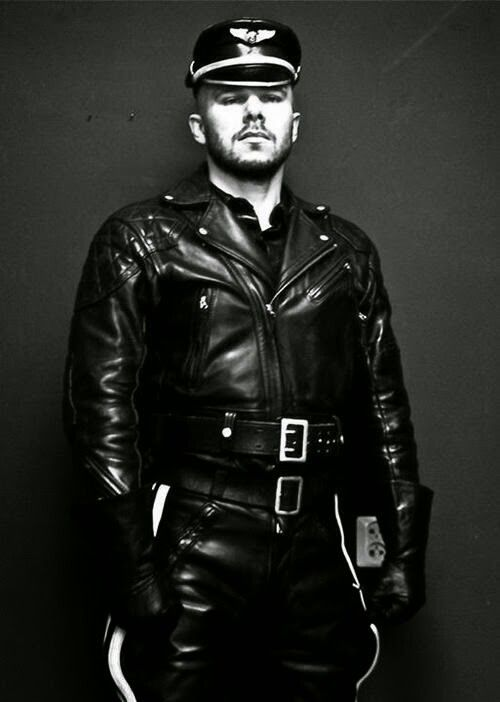 Gay leather mrn
