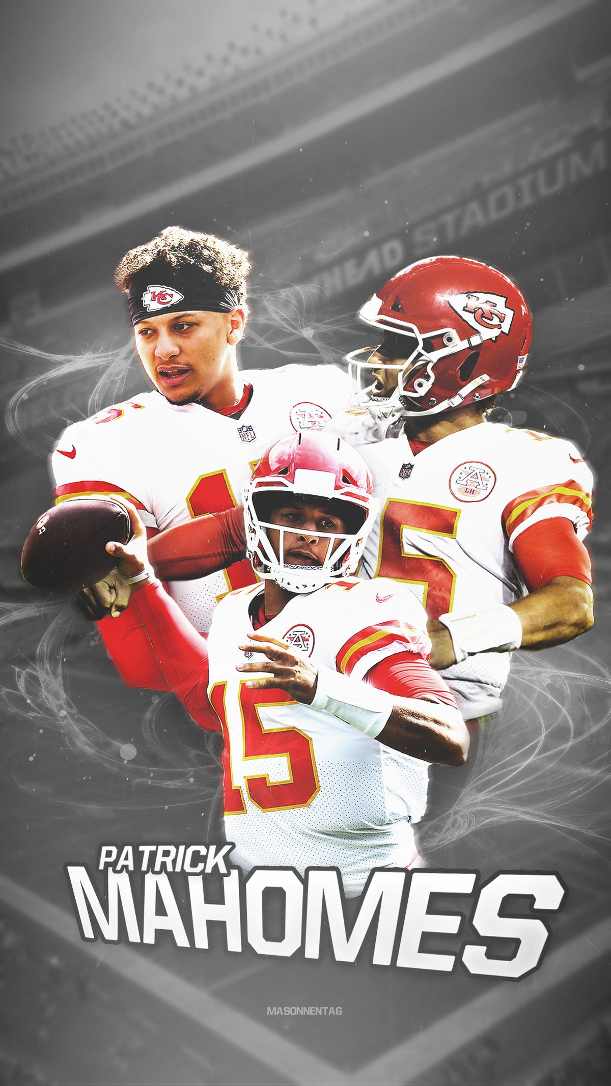 Patrick Mahomes Wallpaper on Behance (With images