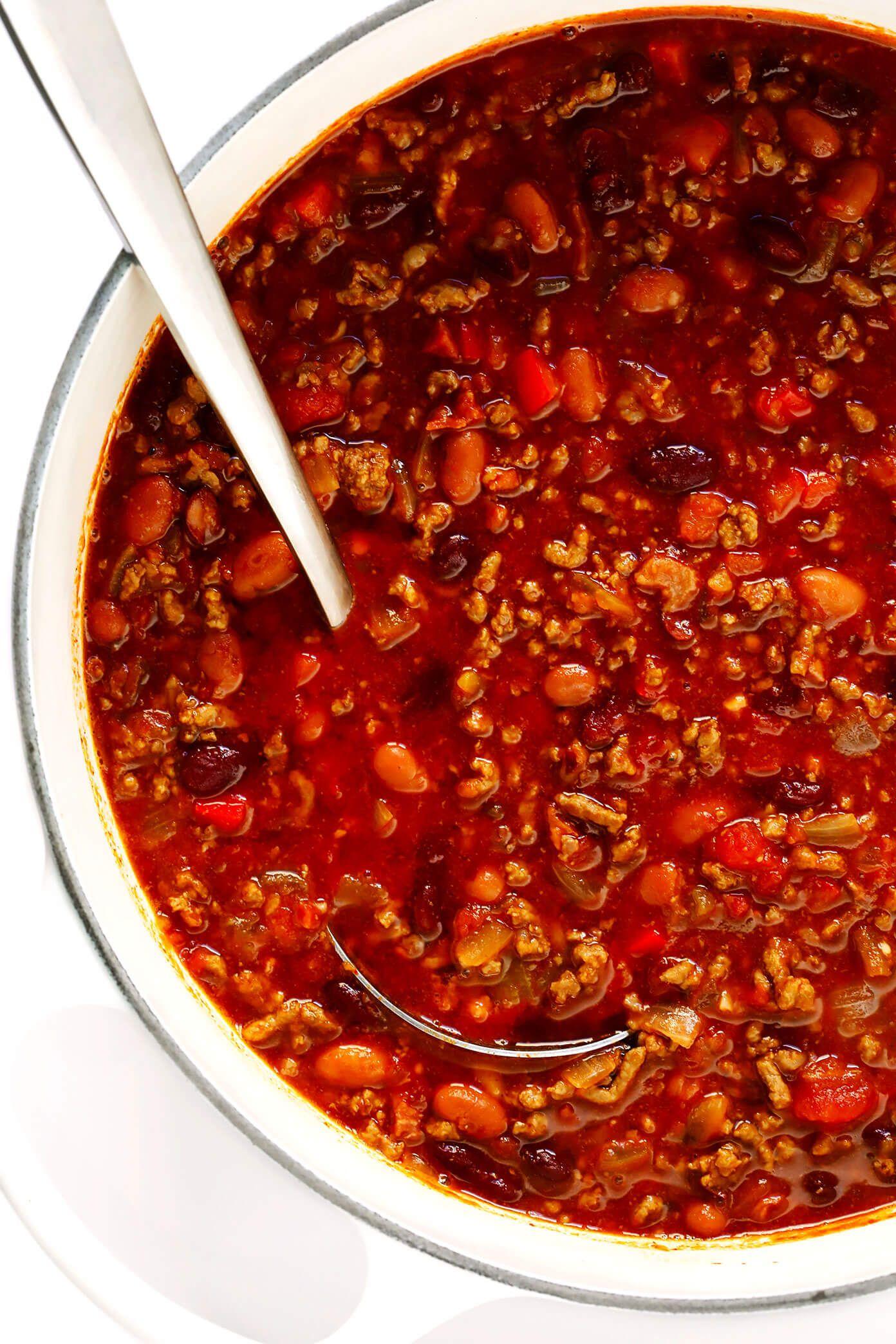 The Best Chili Recipe Gimme Some Oven Recipe Best Chili Recipe Ultimate Chili Recipe Classic Chili Recipe