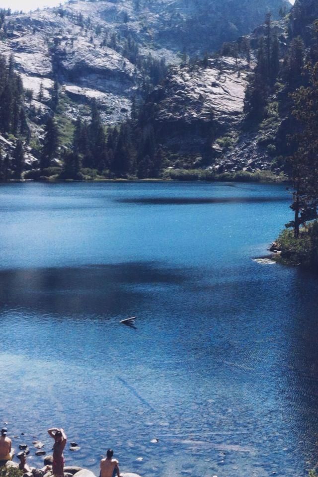 Eagle Lake, Desolation Wilderness Delaney Rose in 2020