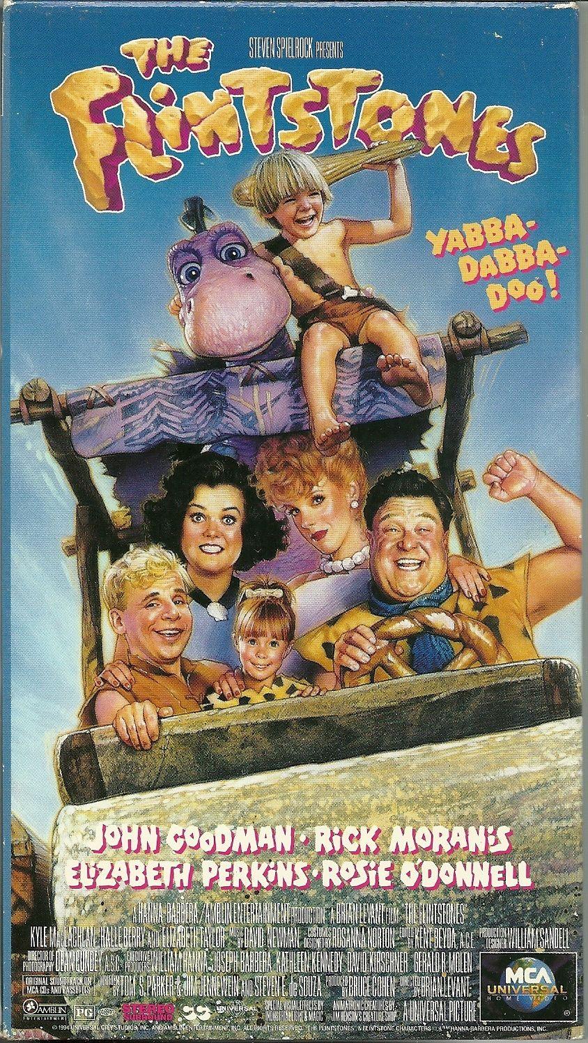 The Flintstones VHS John Goodman Rick Moranis Rosie O