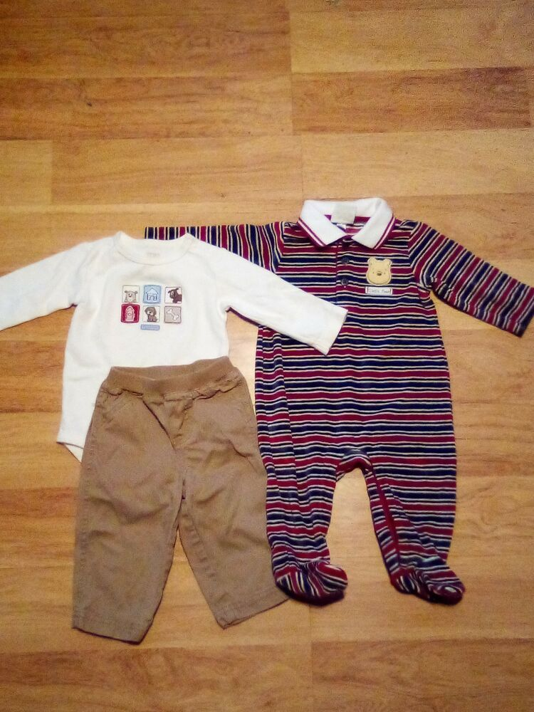 New Carter/'s Dress Boys Blue Striped Dress Shirt /& Khaki Shorts Set NWT 4T Outfi
