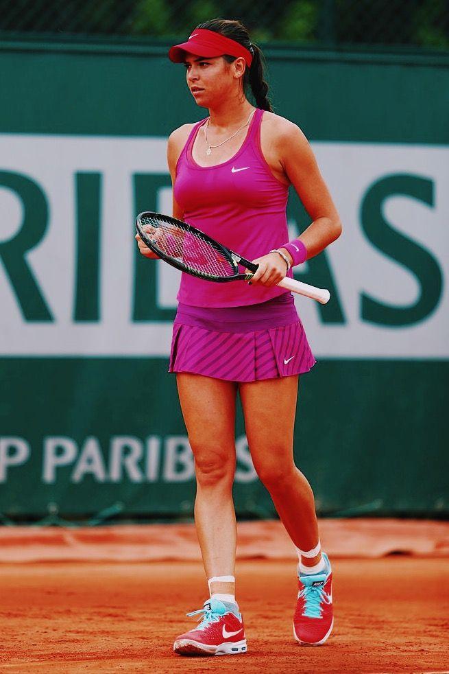 Ajla Tomljanovic 2015 French Open Nike Tennis Dress