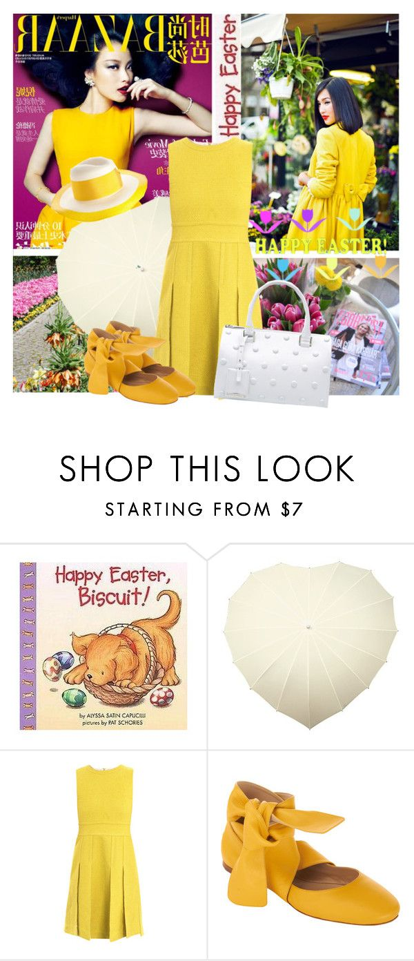 """Happy Easter"" by lavendergal ❤ liked on Polyvore featuring Prada, Diane Von Furstenberg, Chloé, Acne Studios and Jil Sander"