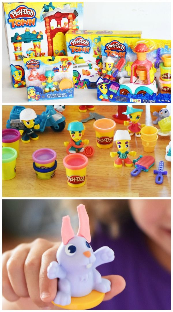 Why every child should play with the PLAY-DOH Town sets. #ad #IC #PlayDohTown