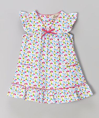 Another great find on #zulily! Pink Hearts Swing Dress - Infant & Toddler #zulilyfinds