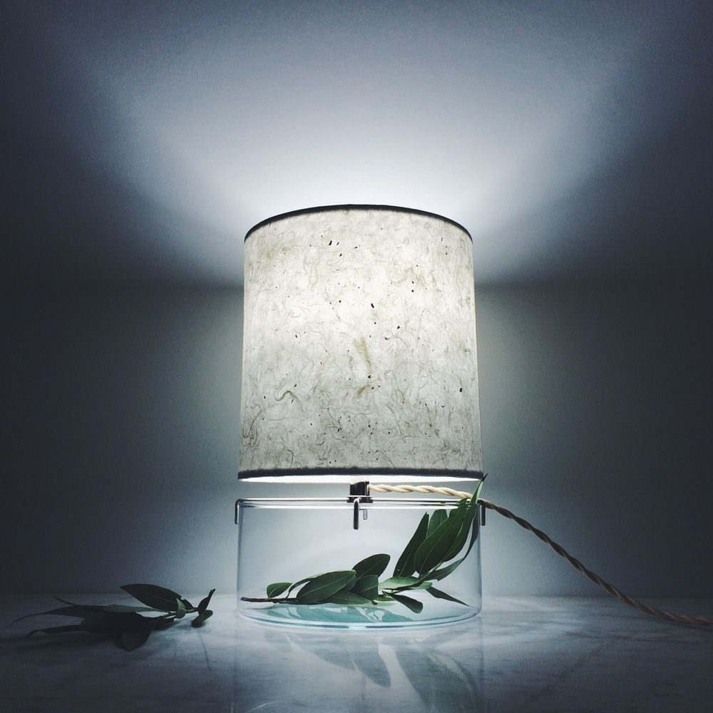 Handmade Terrarium Paper Table Lamp | Paper table, Handmade kitchens ...