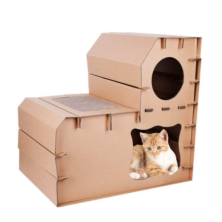 10 awesome cardboard cat houses cardboard cat house cat