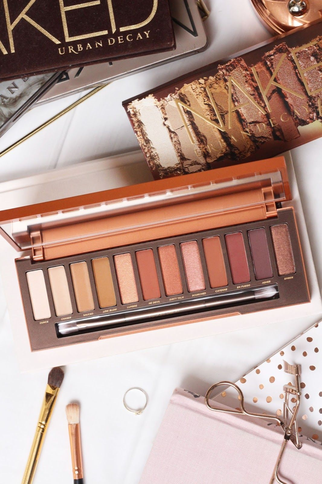 Urban Decay Naked Heat Review + Swatches - Hairspray and
