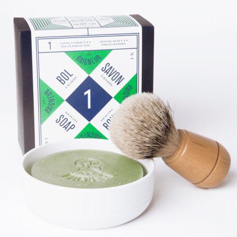 Bol et savon de rasage artisanal #lebaigneur