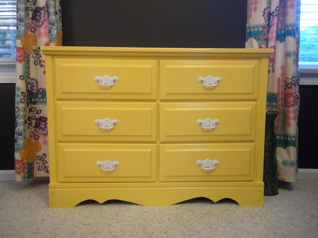 How to paint a dresser changing table or any furniture tips from