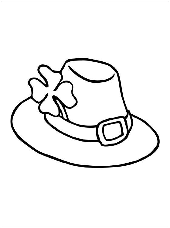 mooie kleurplaat hoed gratis kleurplaten hoeden gekke