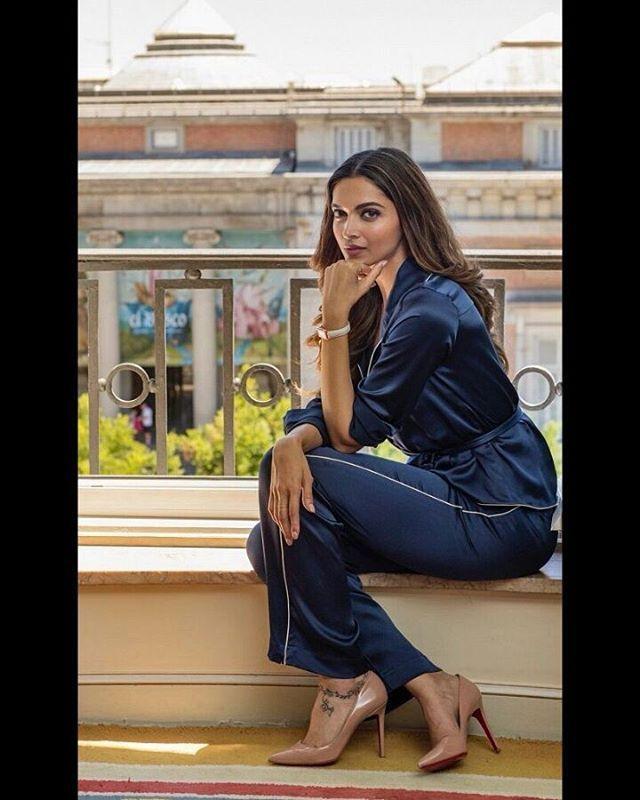Hottness 🔥🔥 #DeepikaPadukone for @tissot_official ...