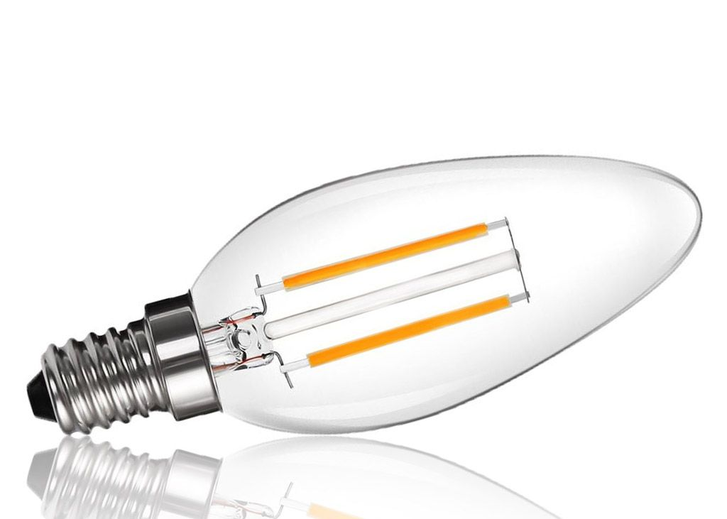 Nextec E27 SMD LED Birne Ball 11 Watt Milchglas