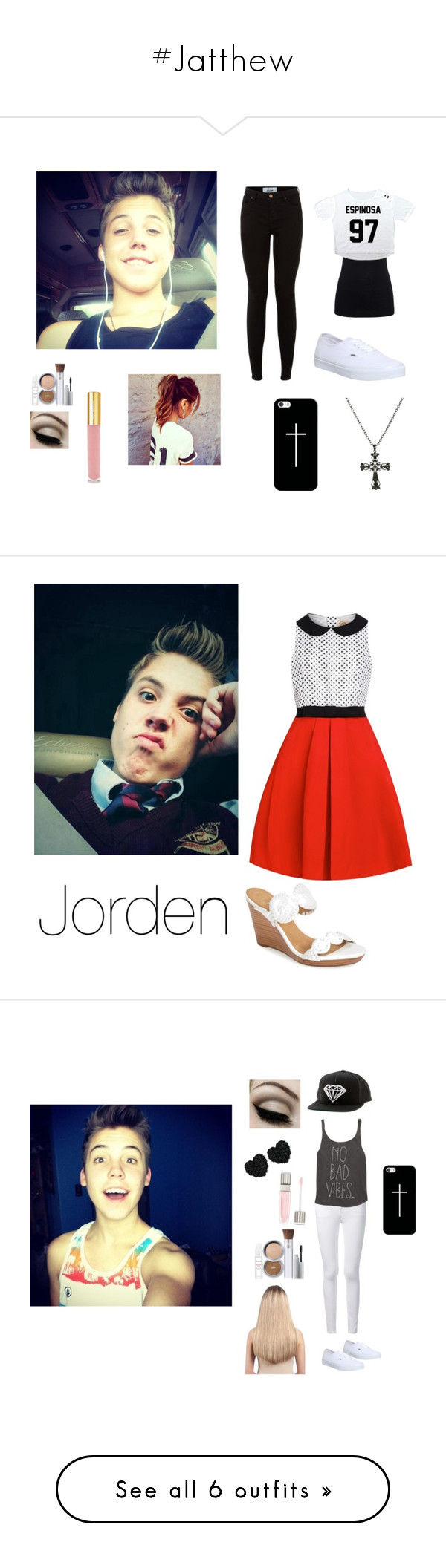 """""""#Jatthew"""" by daisy0320 ❤ liked on Polyvore featuring Juvia, Vans, PurMinerals, Wet Seal, Isaac Mizrahi, Casetify, women's clothing, women, female and woman"""