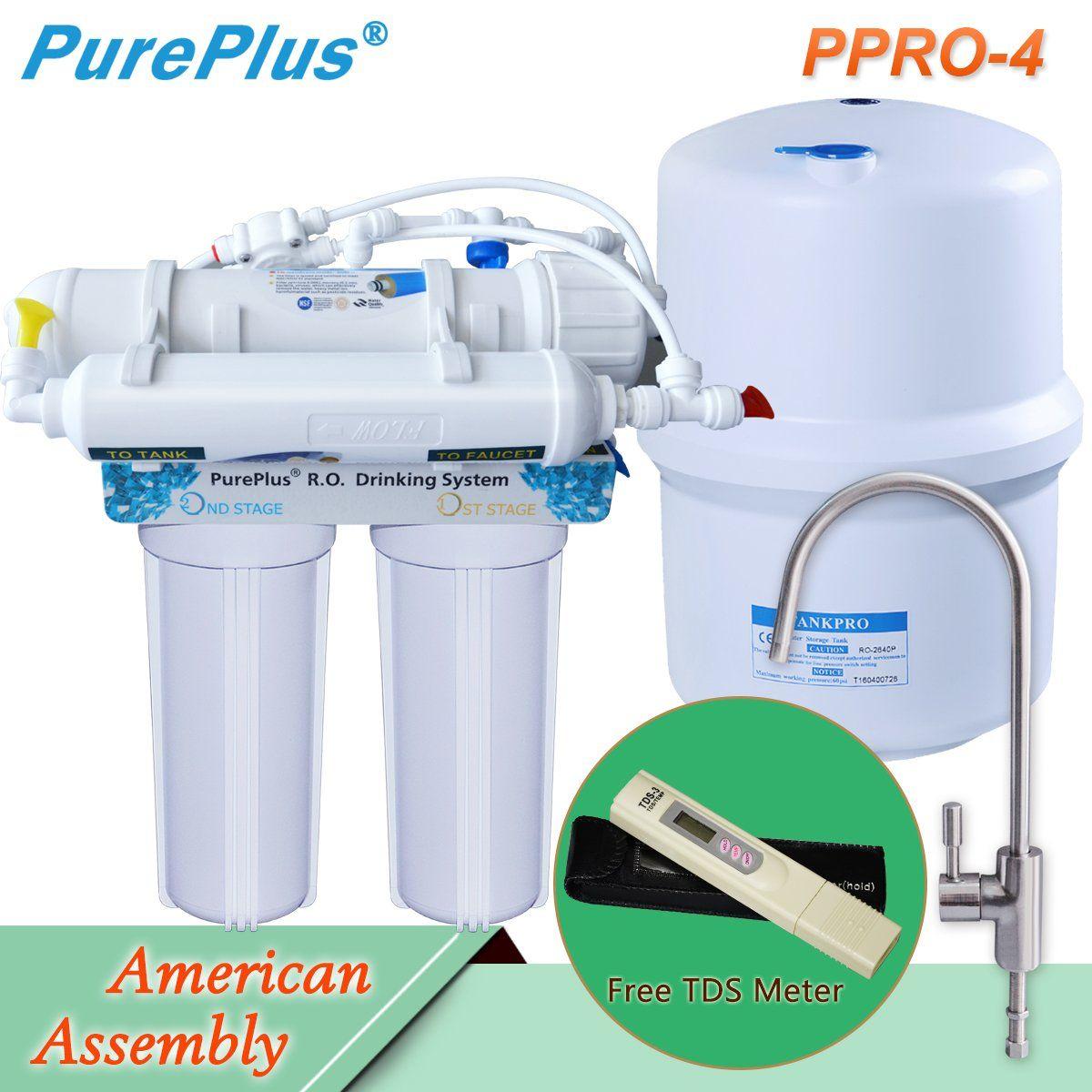 Easy installation pureplus 4stage ultra safe reverse
