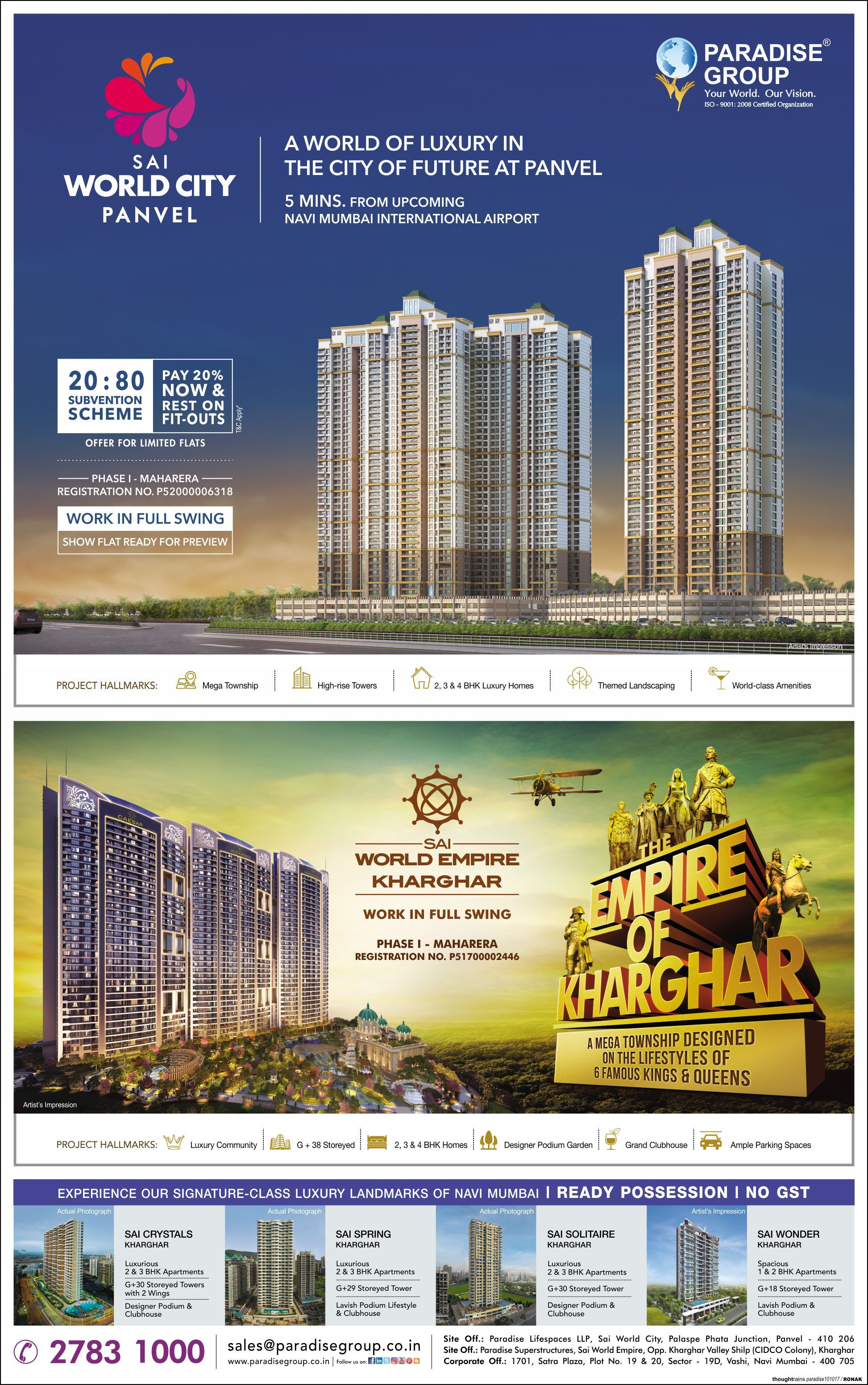 Check out our ad in The Times of India Navi Mumbai Have a
