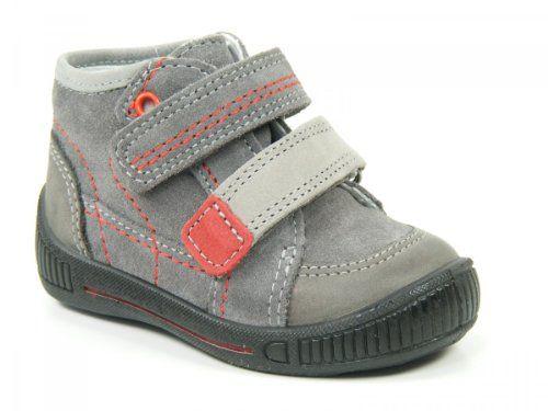 Superfit Cooly - Zapatos de primeros pasos de cuero bebé, color gris, talla 20