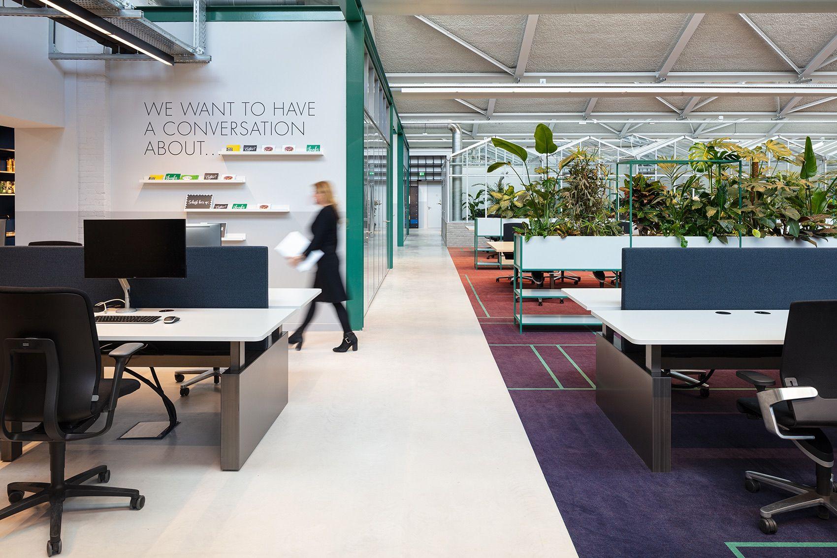 A Tour Of Cbre S Biophilic Amsterdam Hq Open Office Design Work