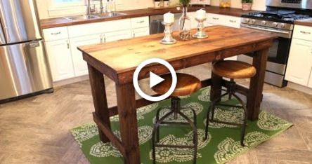 Photo of The $20 Kitchen Island – Easy DIY Project