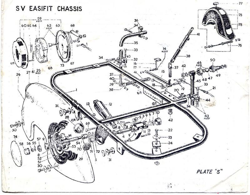 Patent US2702196 - Motorcycle sidecar coupling means - Google ...