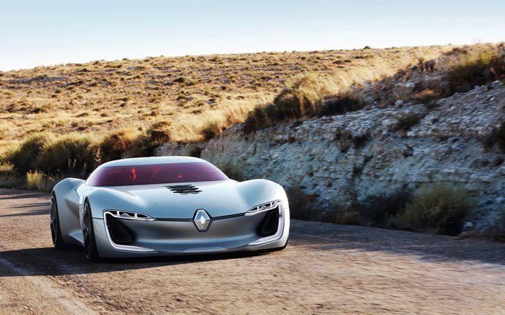Renault Trezor Concept, 5K, supercars, 2016, road