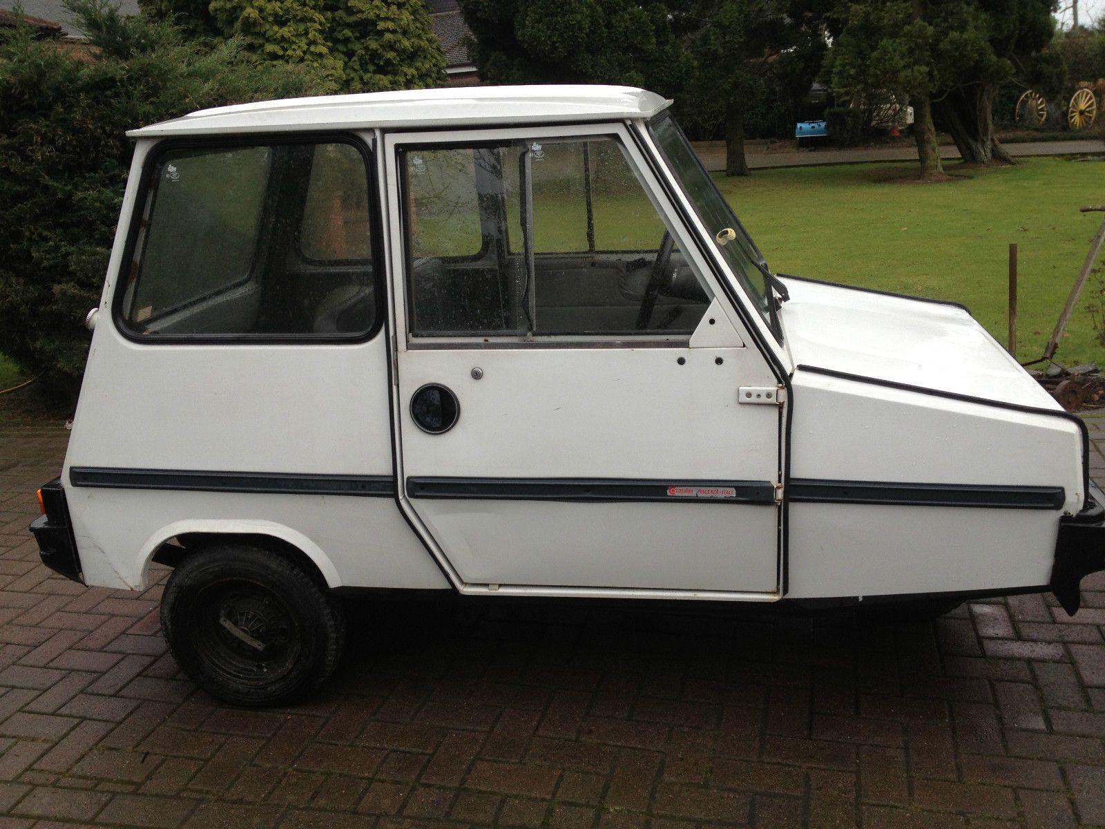 like vespa casalini sulky 3 wheel micro car from italy VERY RARE IN ...