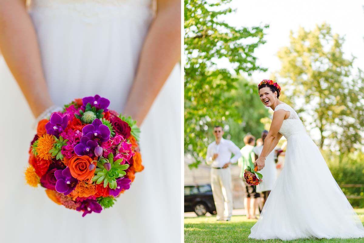 Sommerhochzeit im Sonnenhof Stuttgart: Hochzeitsreportage von Ludmilla Parsyak