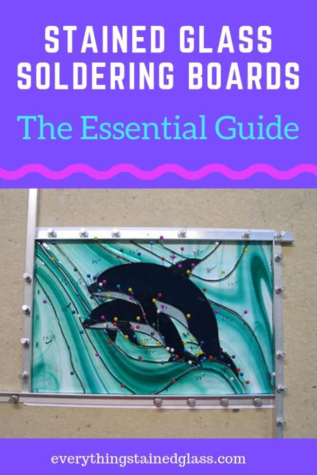 Stained Glass Soldering Boards - The Essential Gui