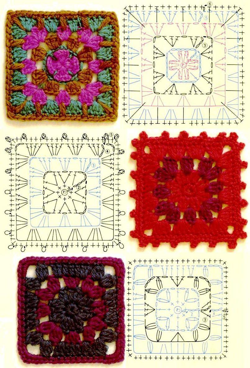 Minidečky - crocheted collected                                                                                                                                                     Mais