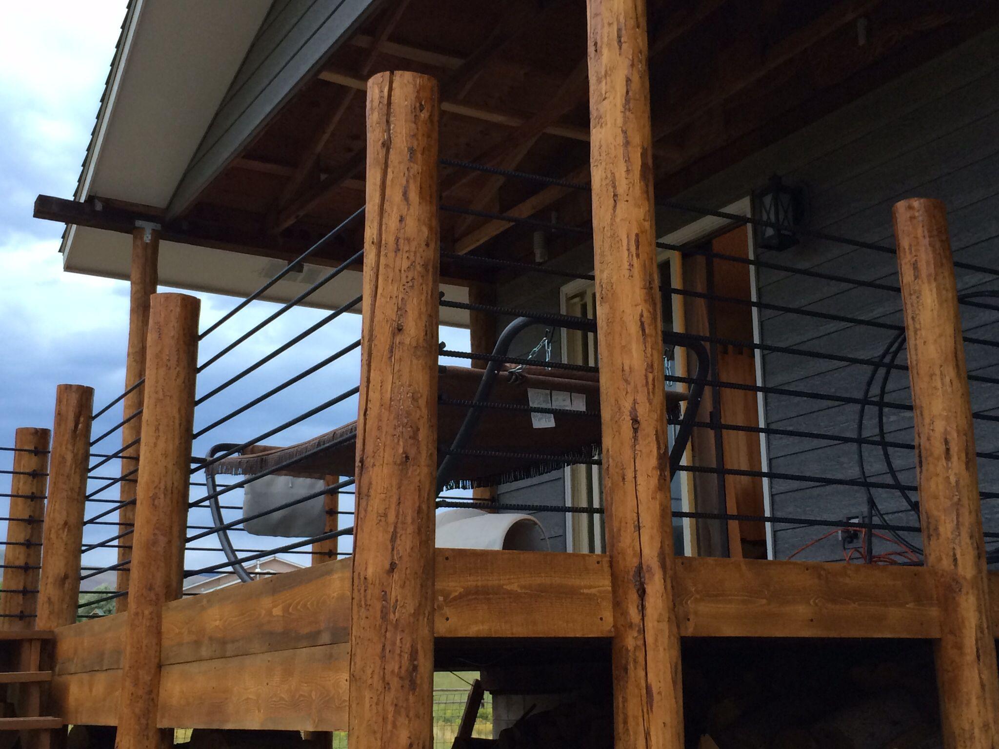 Best Rebar Railing Home Improvement Pinterest Rebar 400 x 300
