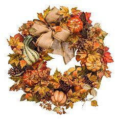 "26"" Harvest Wreath"