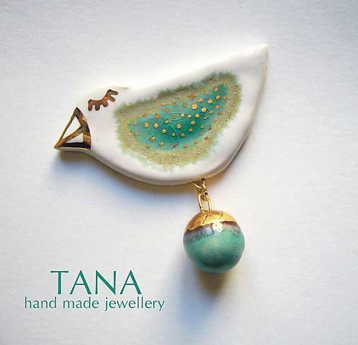 Tana / Tana šperky - keramika/zlato, Noemi