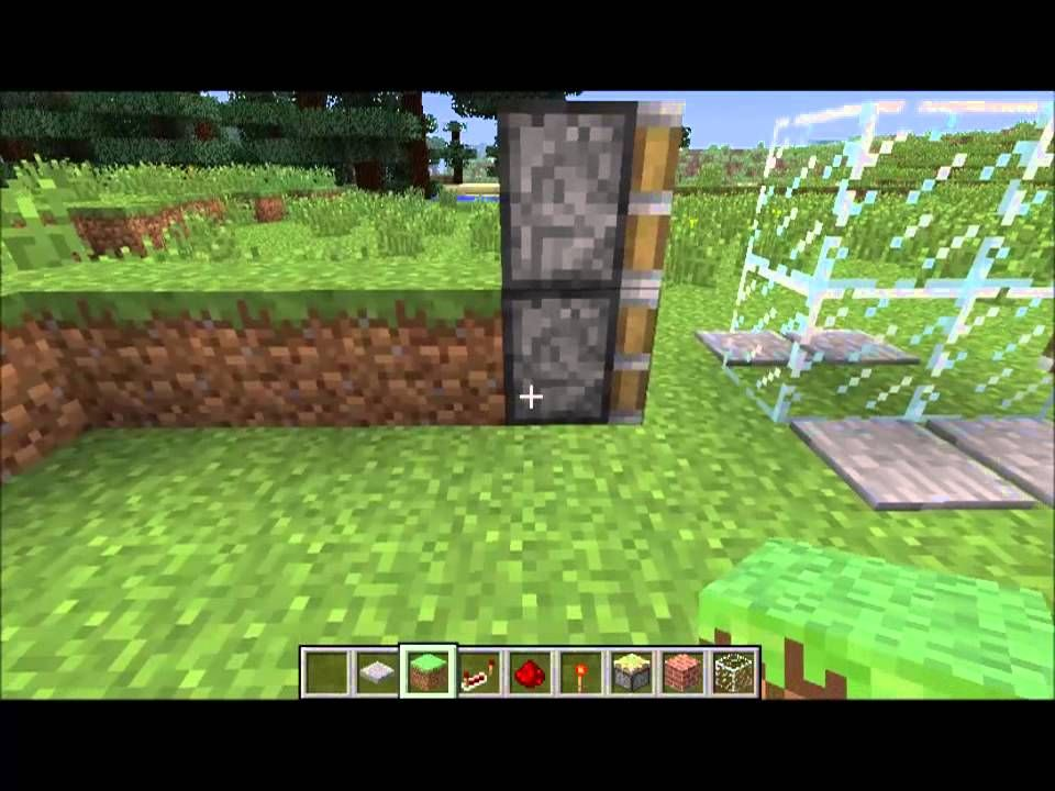 Minecraft Sliding Glass Door