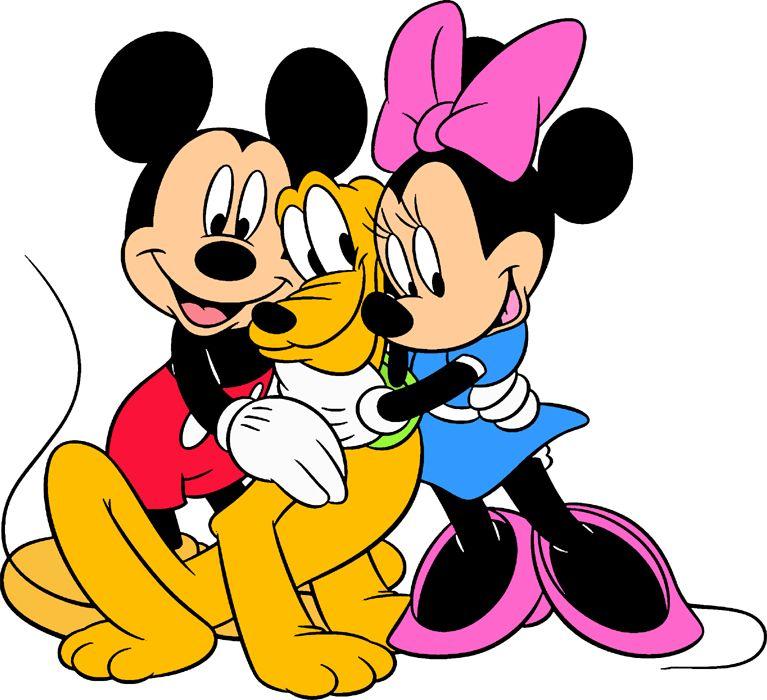 Mickey, Pluto, Minnie