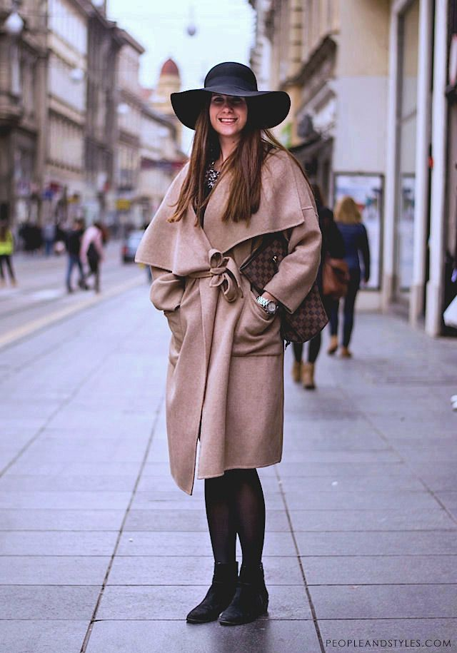 Check Out Chilly Autumn Street Style Fashion From Zagreb Lucija Vidis Konzultantica Autumn Street Style Street Style Women Fashion