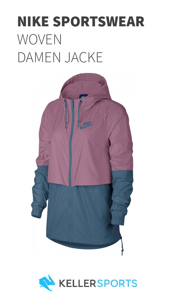 Nike Sportswear Windrunner Damen Windbreaker aus Webmaterial